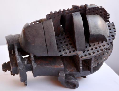 Open Head I, 2013, bronze
