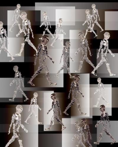 Movement I, 2010, digital print