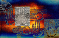 Letters, 2005, digital print